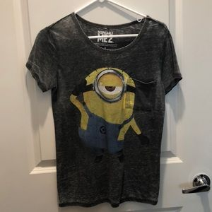 Despicable Me Minion Graphic Tee, Size small